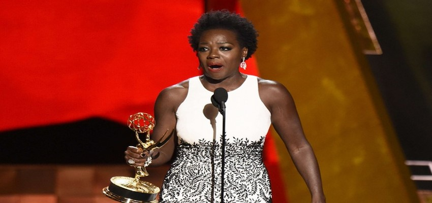 Viola Davis makes history with best actress in drama series win