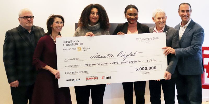 THE FCF AWARDS THE FIRST QUEBECOR DIVERSITY ON SCREEN SCHOLARSHIP